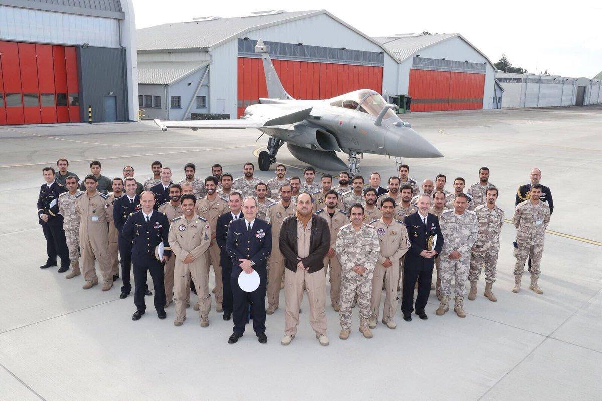 صورة قطر تطور الرافال الفرنسية وتوسع أكبر قاعدة أمريكية في الشرق الأوسط