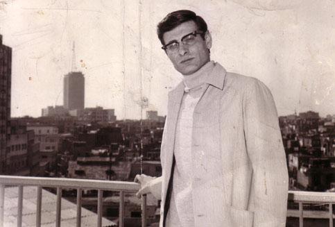 صورة محمود درويش… أنا ابن النيل