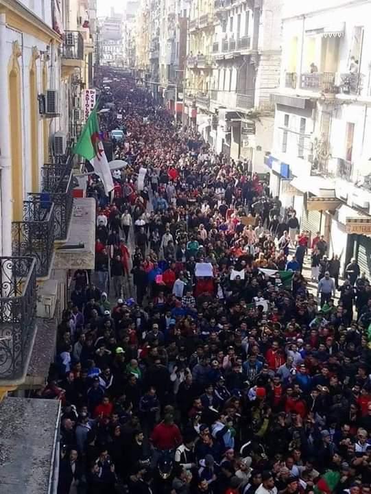 صورة عاجل ..انتصار ارادة الشعب الجزائري