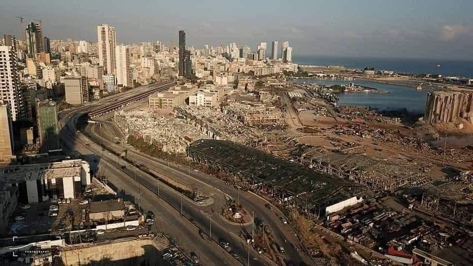 هذا ما حدث بمرفأ بيروت
