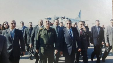 """صورة """"كل العرب"""" تكشف حقيقة زيارة عمرو موسى الى بغداد"""