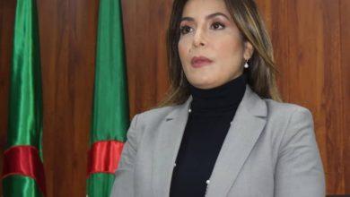 صورة الوزيرة الجزائرية المنتدبة لرياضة النخبة سليمة سواكري: بالمثابرة والعمل الجاد لا شيء مستحيل