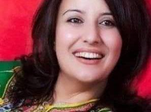 """صورة الكاتبة والمخرجة المغربية مجيدة بن كيران على صفحات """"كل العرب"""""""