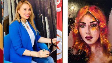صورة سناء هيشري: إتقان لُعبة الألوان سرّ نجاح اللّوحة الفنّيّة